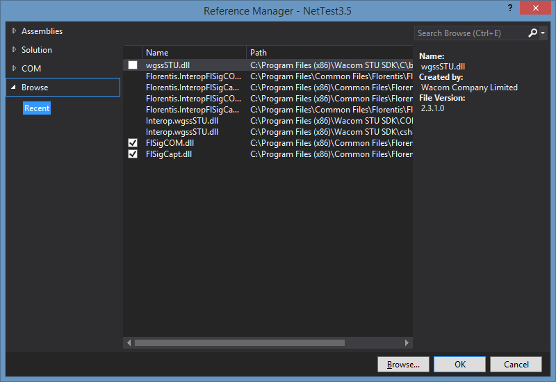 .NET reference manager